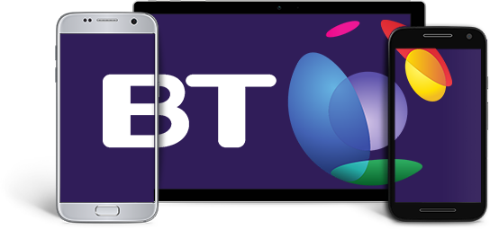 devices showing the bt logo