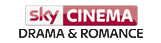 sky cinema drama and romance logo