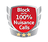 Block up to 100% Nuisance Calls