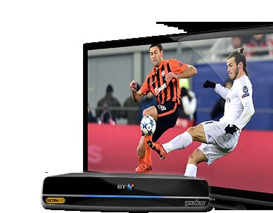 Four BT Sport channels