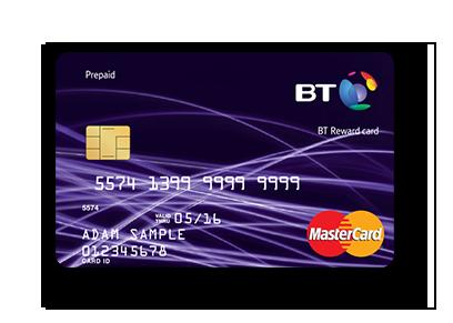BT Reward Card