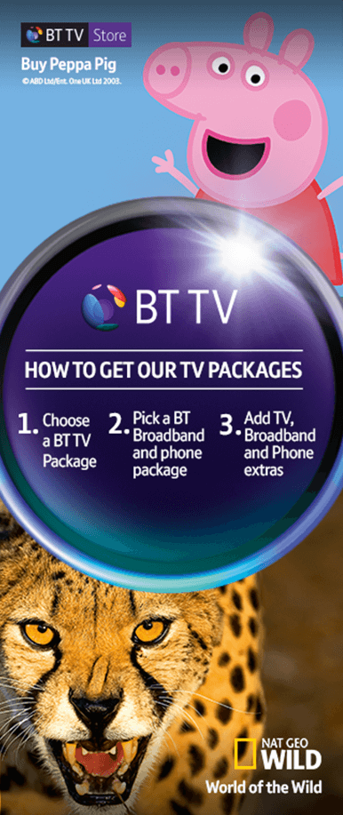 How to get our TV Packages